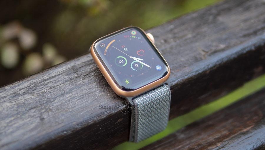 Поведение дисплея Apple Watch Series 4 на солнце - яркость до 1000 нит