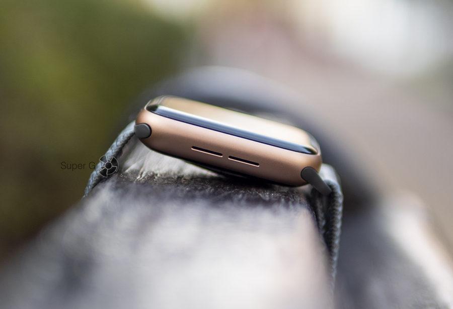 Динамик Apple Watch Series 4 очень громкий
