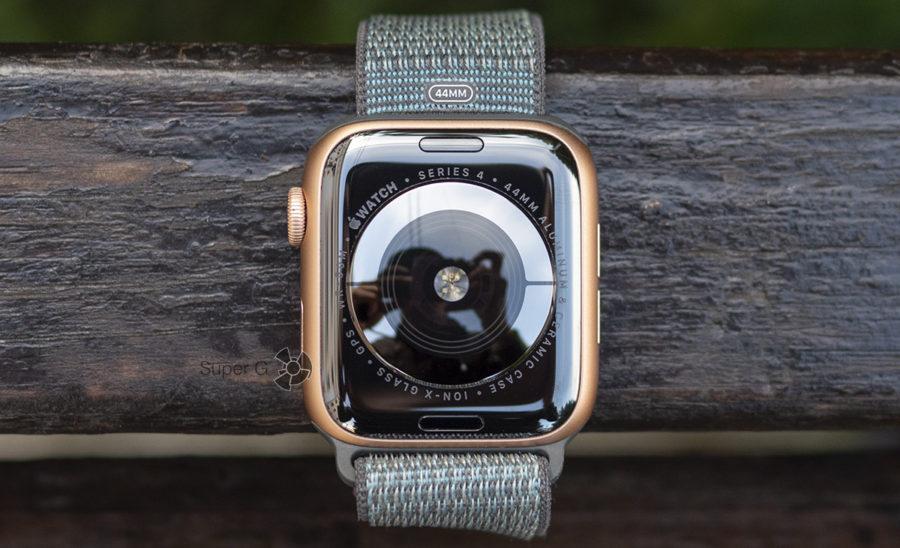 Керамическая задняя крышка и сапфировое стекло Apple Watch Series 4