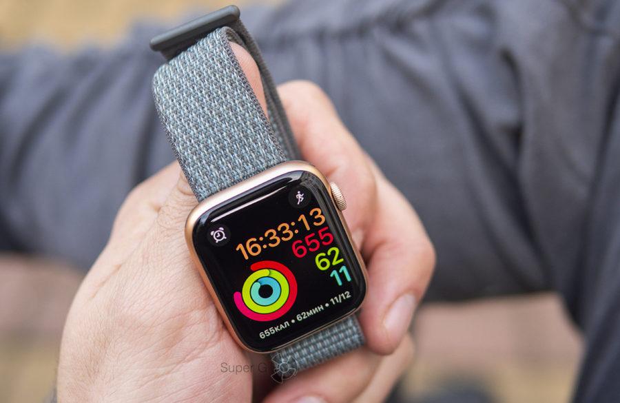 Нейлоновый ремешок из новой коллекции для Apple Watch Series 4