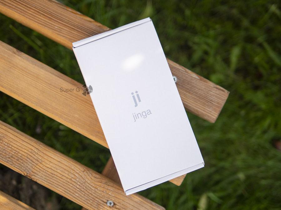 Коробка от Jinga Pass Plus