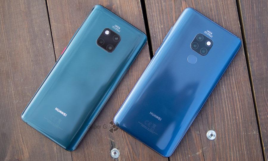 Сравнение Huawei Mate 20 Pro