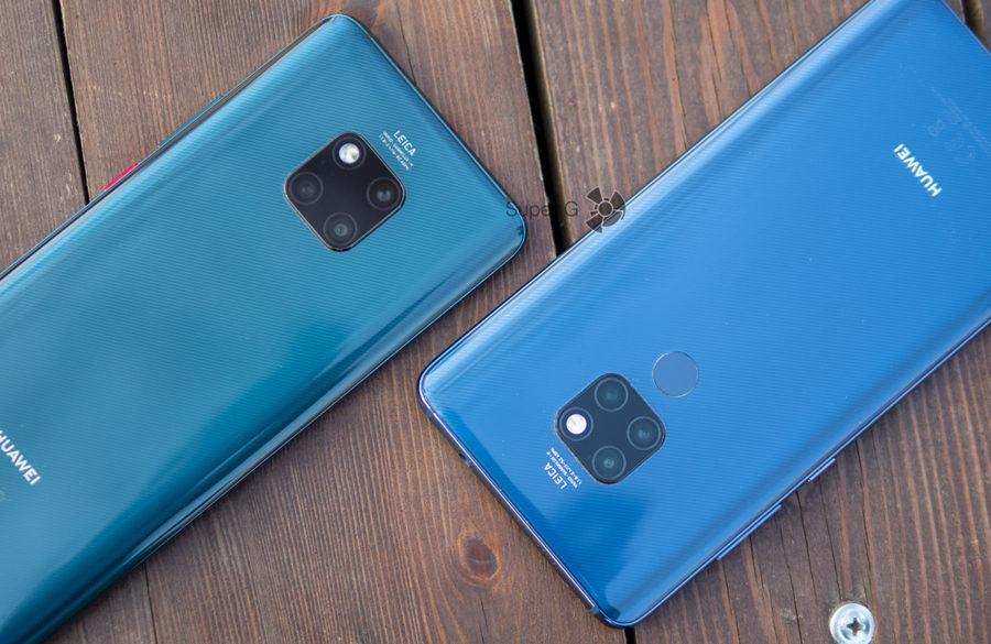 Сравнение камер Huawei Mate 20 Pro