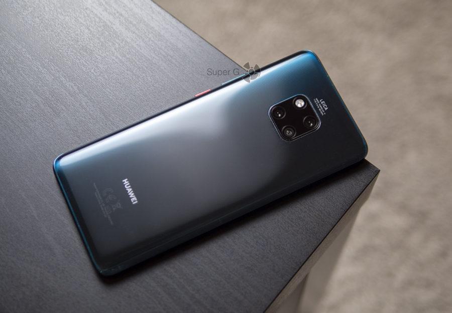 Huawei Mate 20 Pro - без чехла