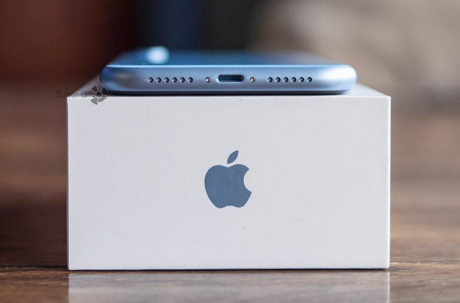 Коробка от iPhone Xr