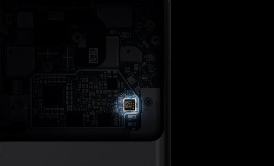 Titan M chip in Google Pixel 3