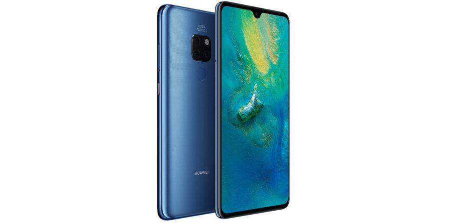 Дизайн Huawei Mate 20