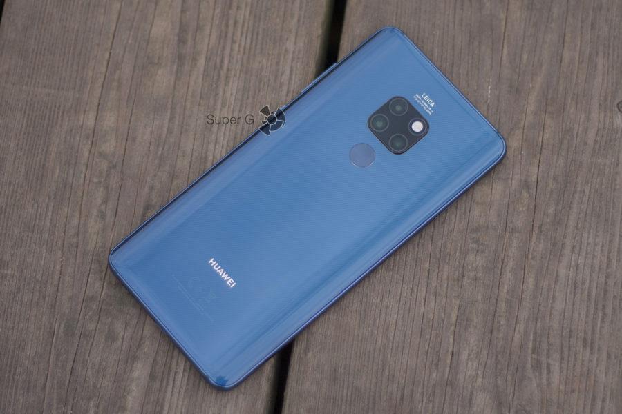 Huawei Mate 20 без чехла