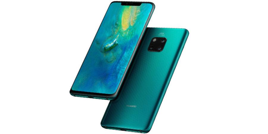 Дизайн Huawei Mate 20 Pro
