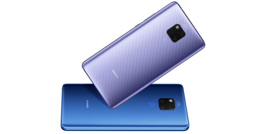 Дизайн Huawei Mate 20X
