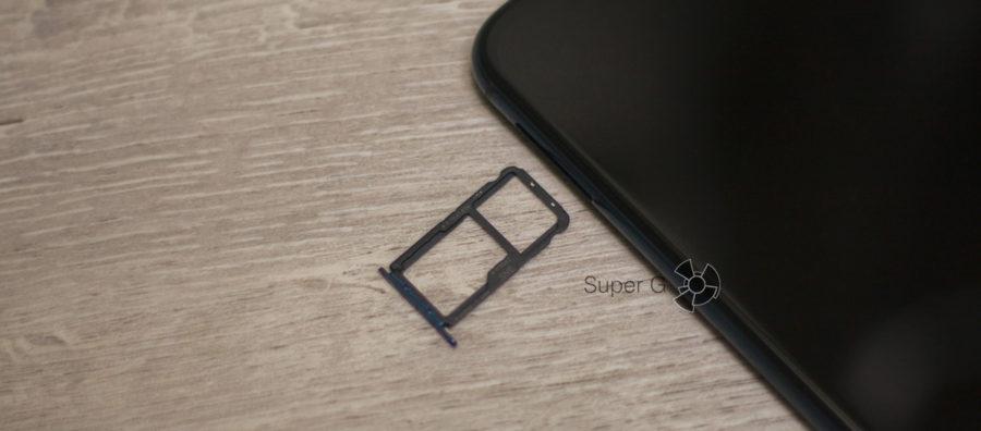 Лоток SIM Huawei Mate 20 Lite