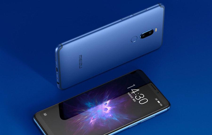 Синий Meizu Note 8