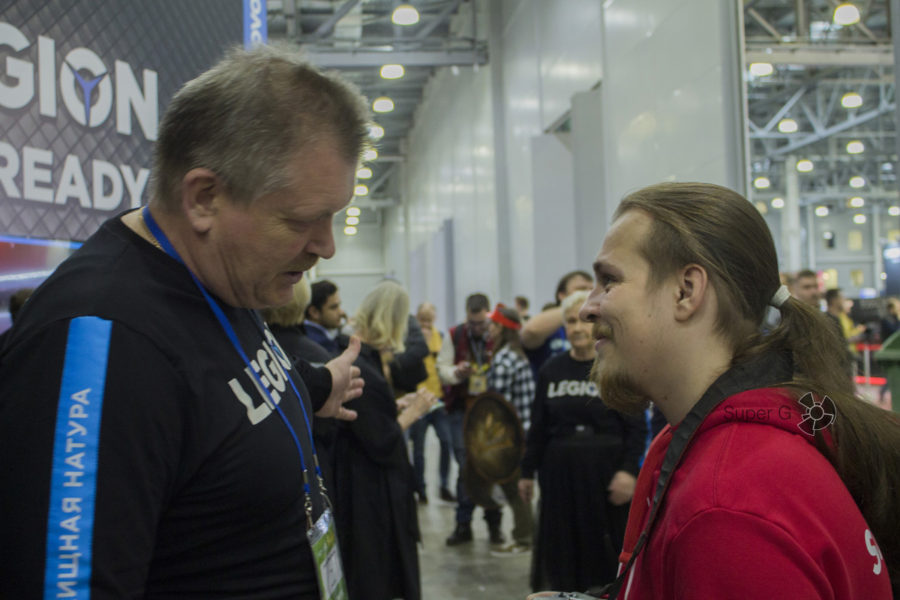Интервью IRON LEGION