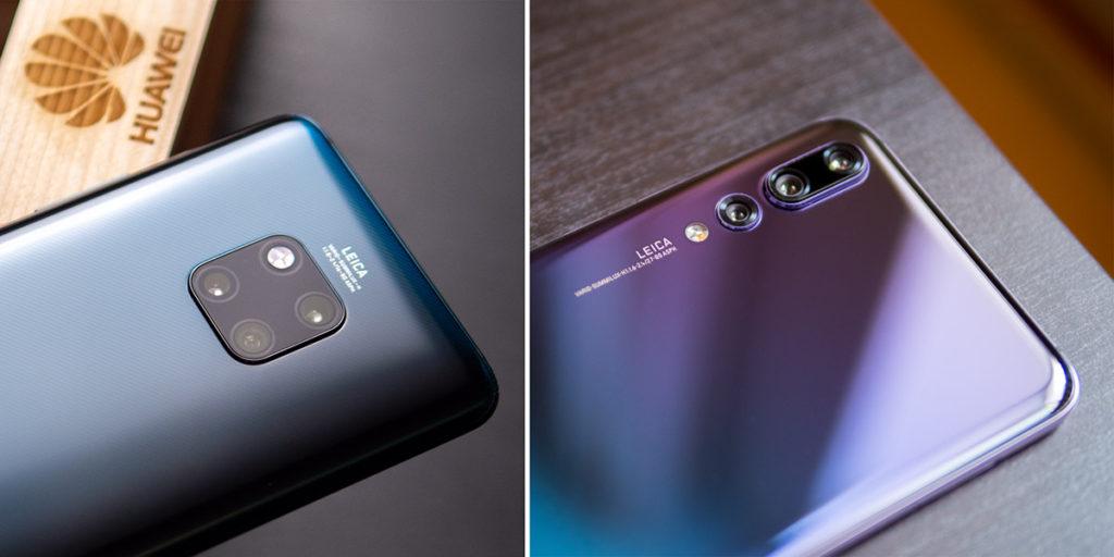 Сравнение камер Huawei Mate 20 Pro и Huawei P20 Pro