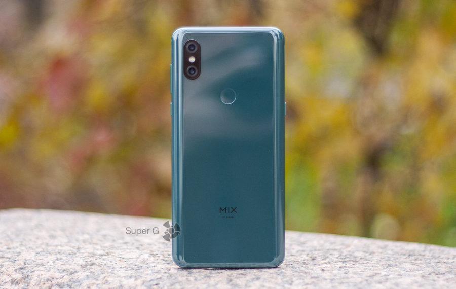 Дизайн Xiaomi Mi MIX 3