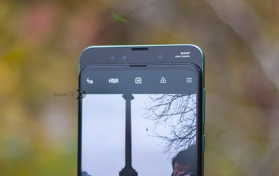 Фронтальные камеры Xiaomi Mi MIX 3