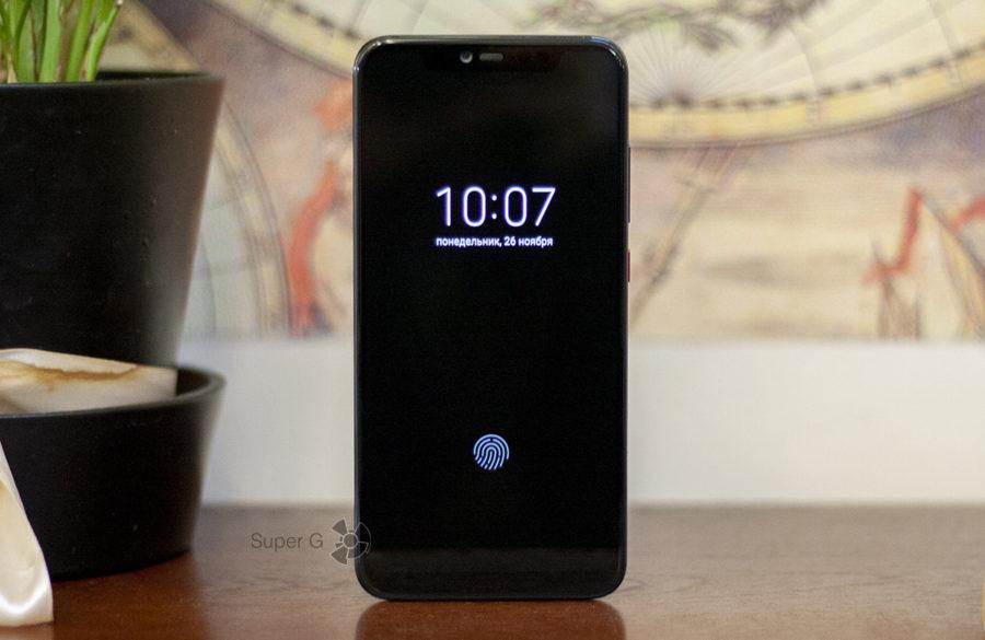 Сканер отпечатков Xiaomi Mi8 Pro