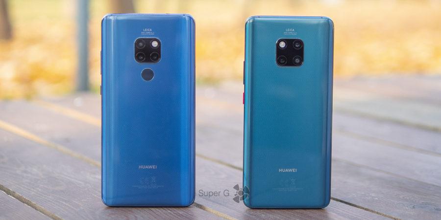 Тест камер Huawei Mate 20 (слева) и Huawei Mate 20 Pro (справа)