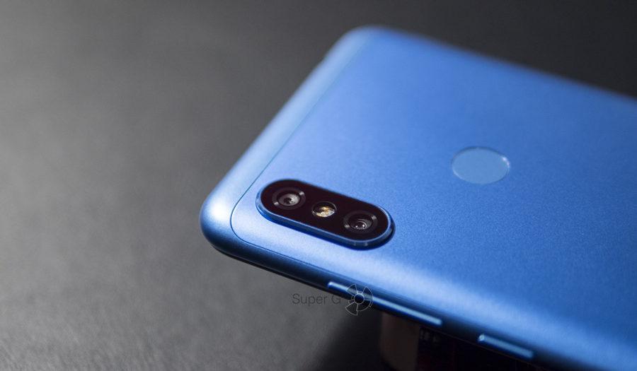 Форма металлической крышки сзади в Redmi Note 6 Pro изменена