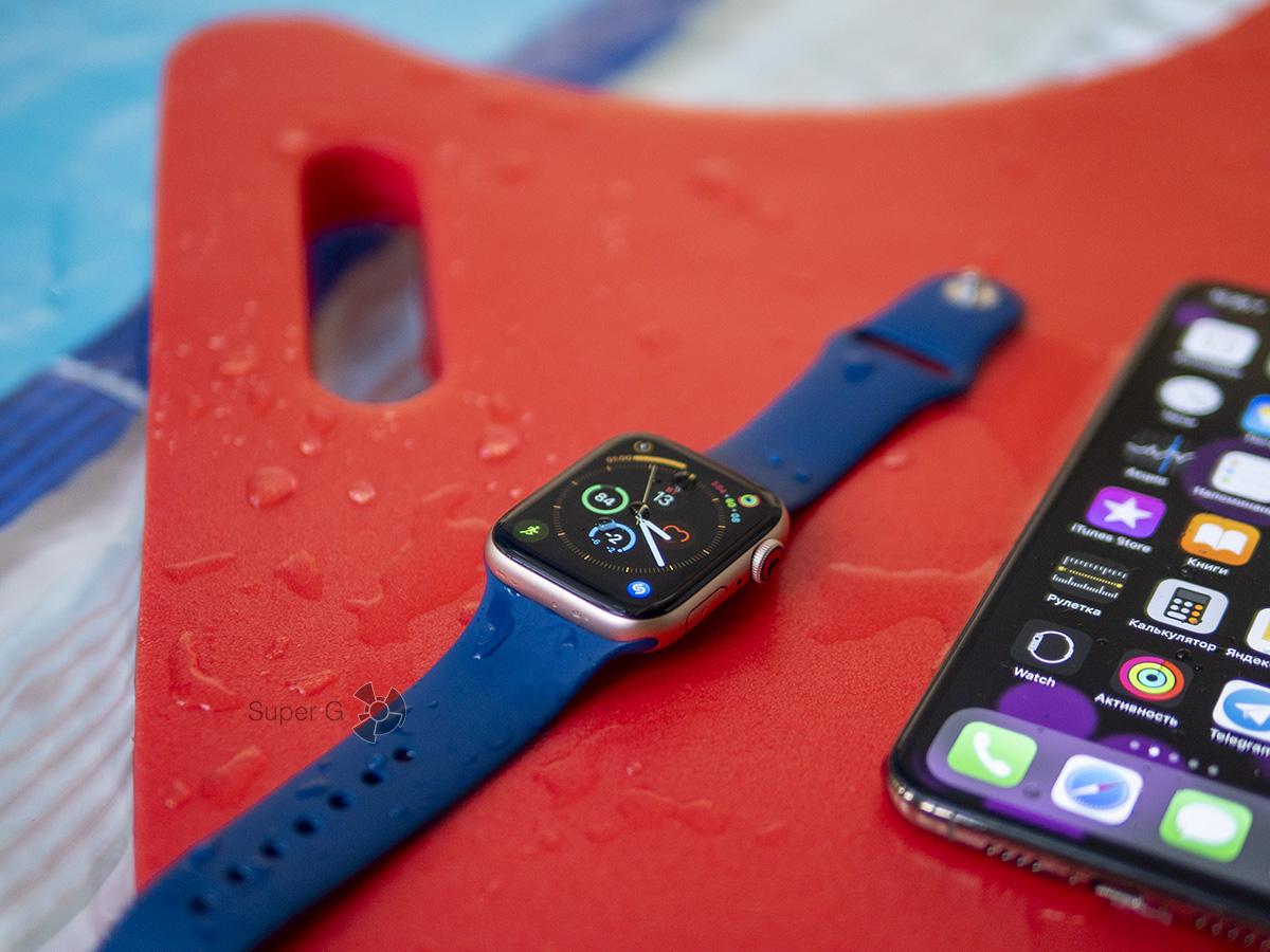 Плаванием и тестируем Apple Watch Series 4 в бассейне