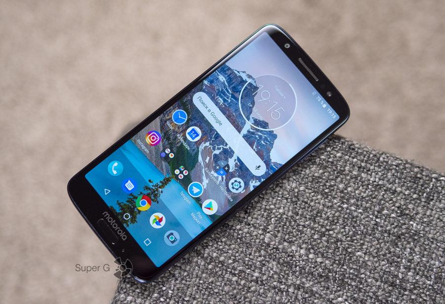 Тестирование Motorola Moto G6