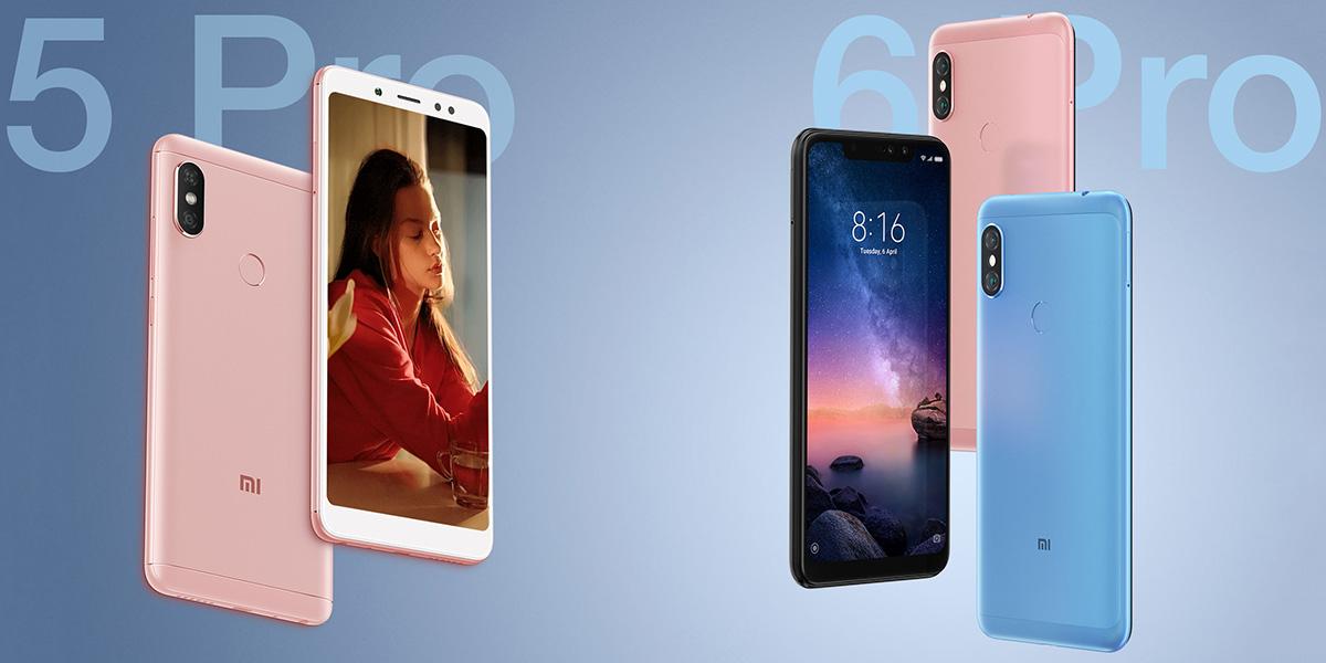 Отличия Xiaomi Redmi Note 5 Pro от Redmi Note 6 Pro