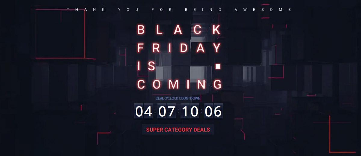 Как будет проходить Чёрная пятница на Gearbest
