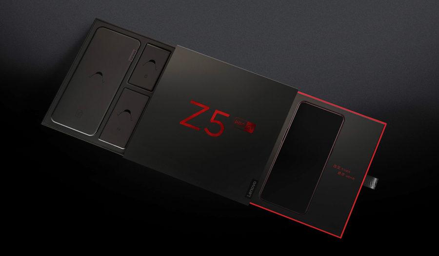 Lenovo Z5 Pro GT коробка и распаковка