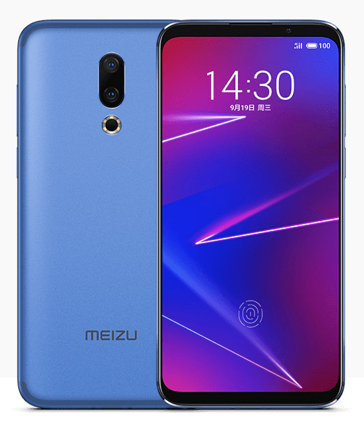 Meizu 16x синий - китайская версия