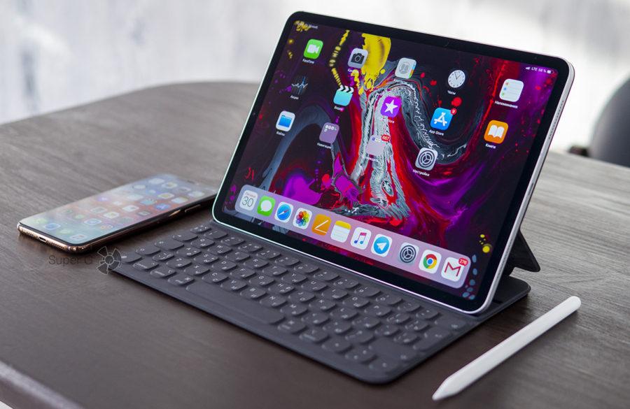 Apple iPad Pro 11 и аксессуары к нему