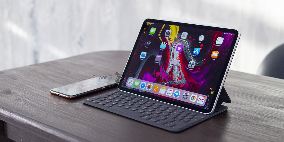 Отзывы о Apple iPad Pro 11 и Smart Keyboard Folio