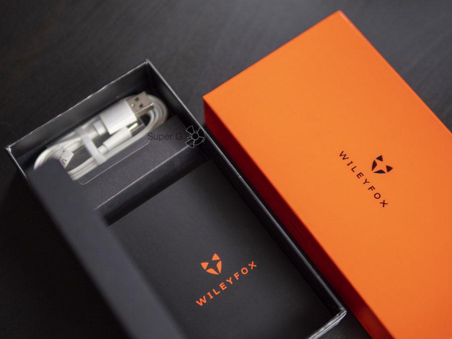 Распаковка Wileyfox Spark X