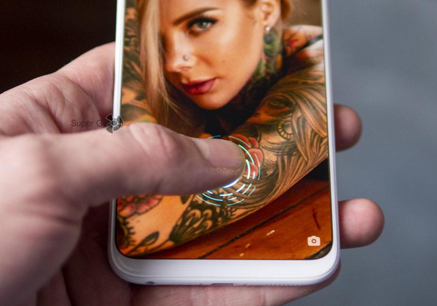 Сканер отпечатков пальцев Meizu 16x встроен прямо в дисплей