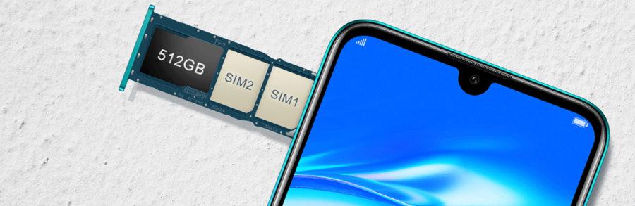 Лоток SIM Huawei Enjoy 9