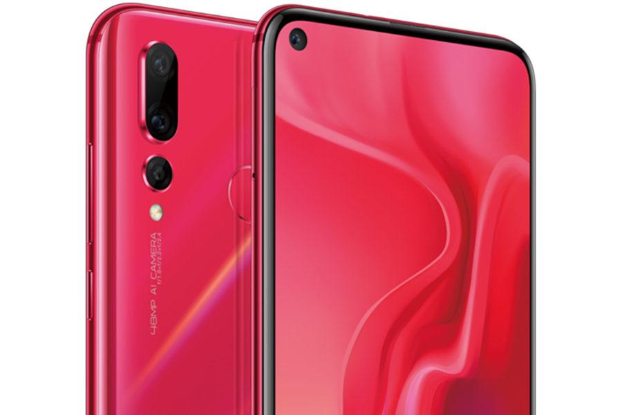 Дизайн Huawei Nova 4