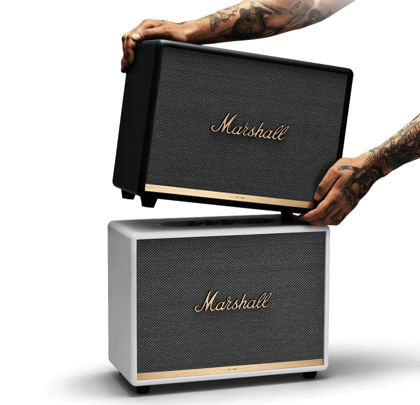 Marshall Woburn II Bluetooth черный и белый