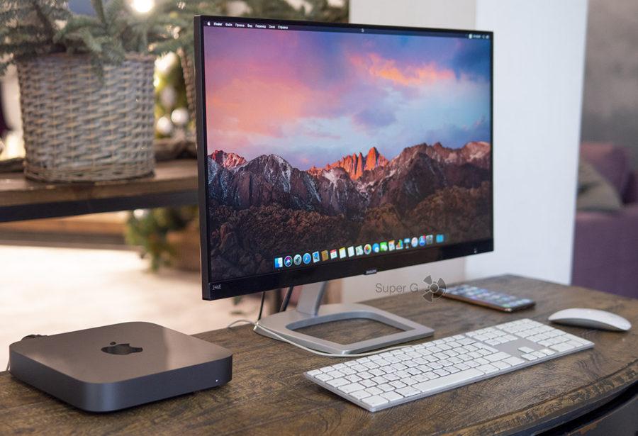Дизайн Mac mini 2018