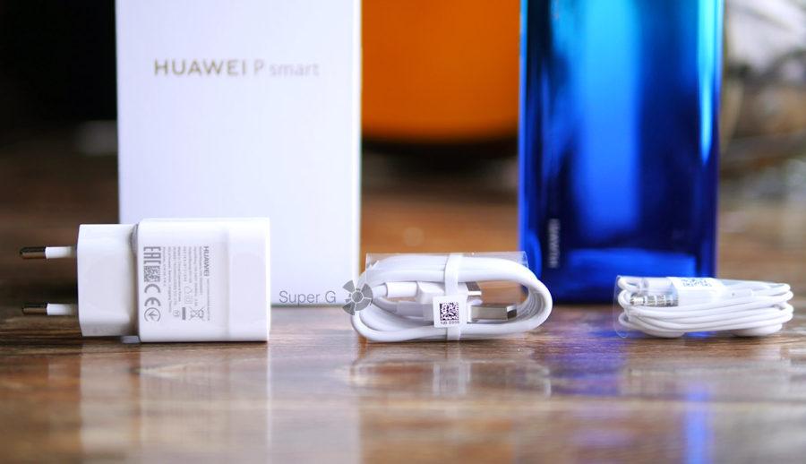 Комплектация Huawei P Smart 2019