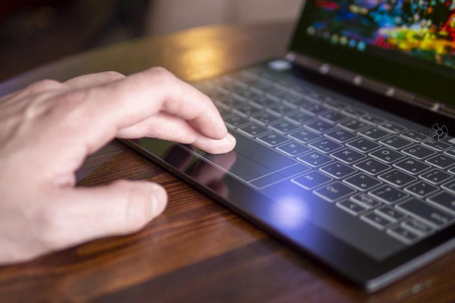 Сенсорный экран E Ink с электронными чернилами Lenovo Yoga Book