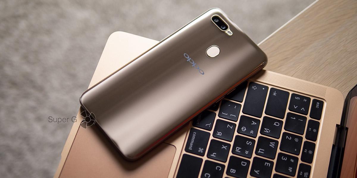 Обзор смартфона Oppo AX7