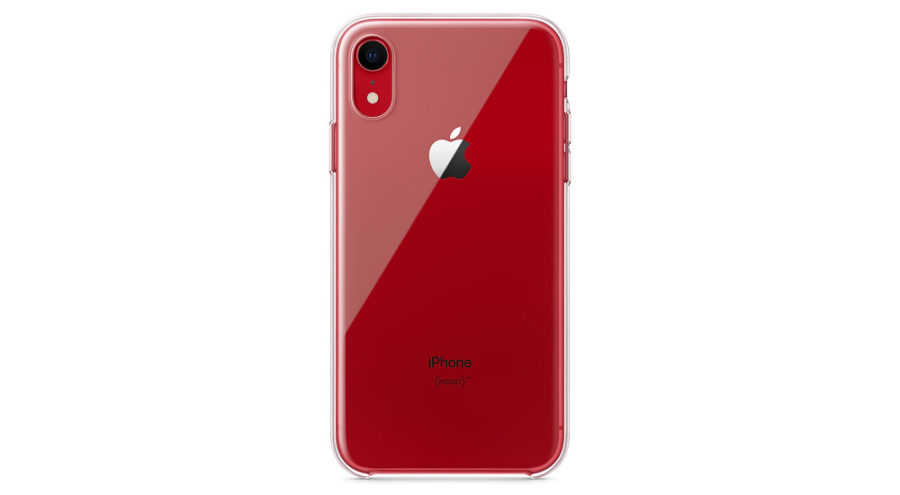 Силиконовый чехол для iPhone XR оригинальный