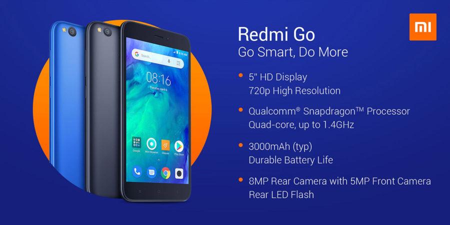 Xiaomi Redmi Go характеристики и цена