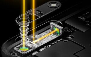 Камера и сканер отпечатков Oppo