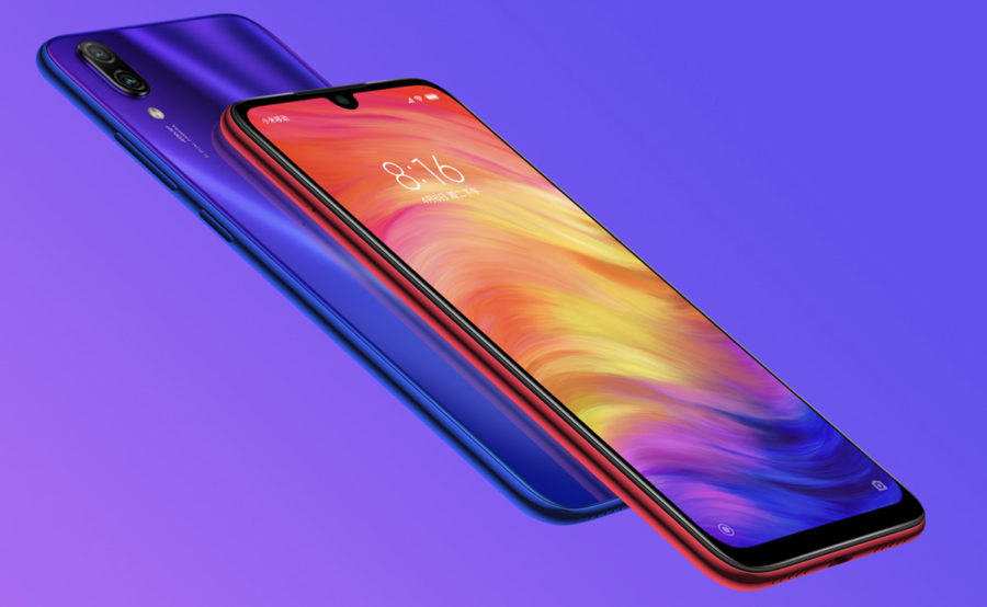 Дизайн Redmi Note 7