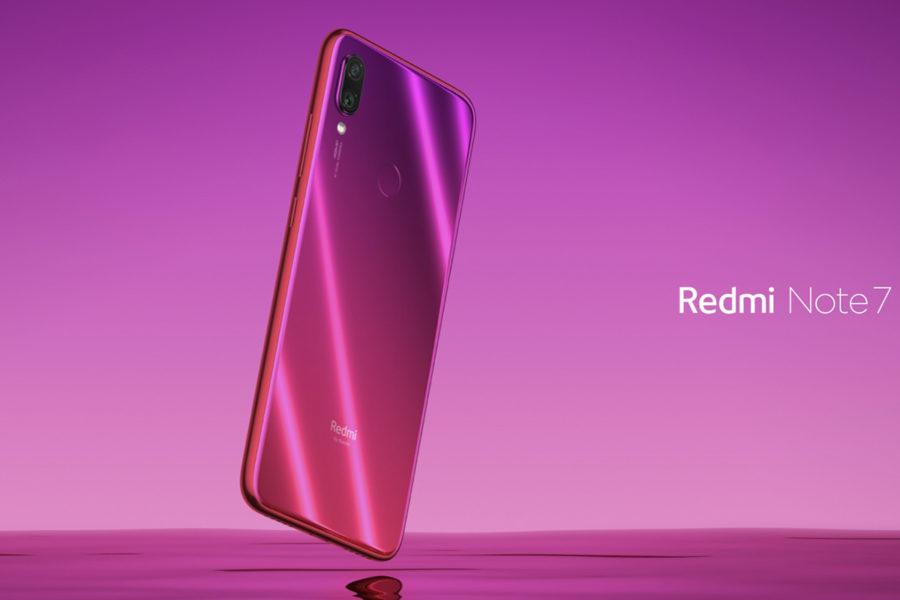 Красный Redmi Note 7