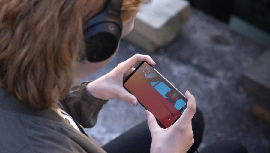 Звук Sony Xperia 1