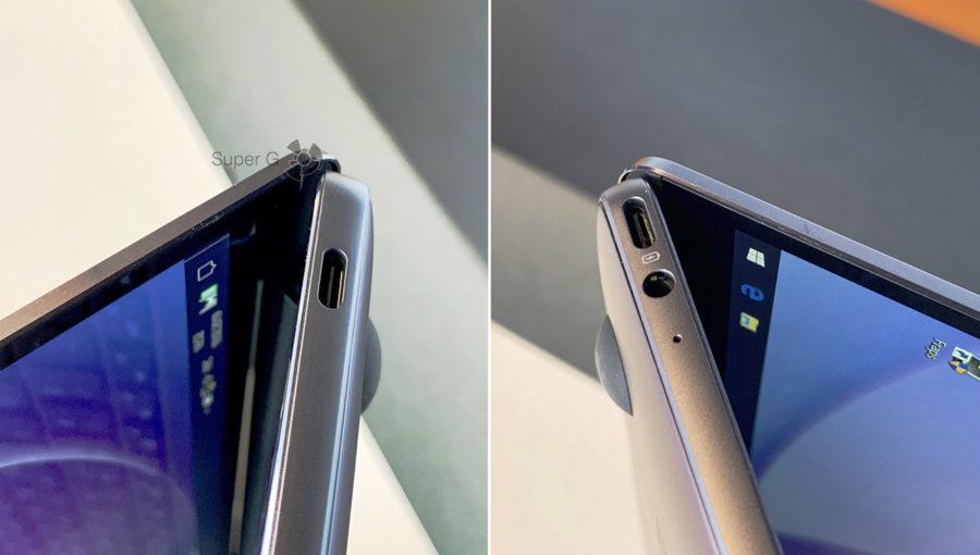 Разъёмы Huawei MateBook 13