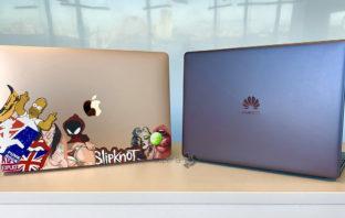 Huawei MateBook 13 сравнение с MacBook Air