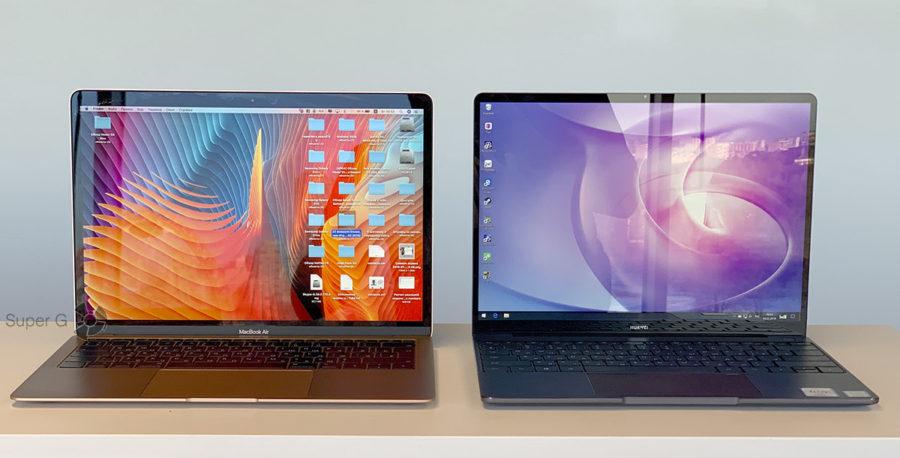 Дисплей Huawei MateBook 13 и MacBook Air 13 2018