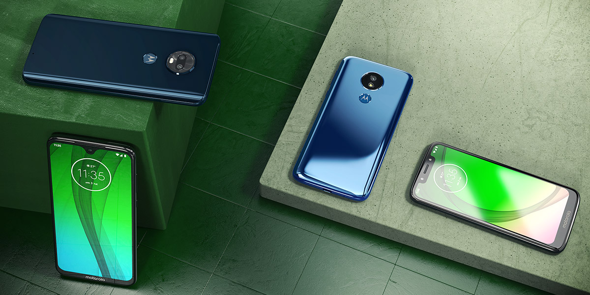 Hello G7 Moto - четыре новых смартфона от Lenovo-Motorola